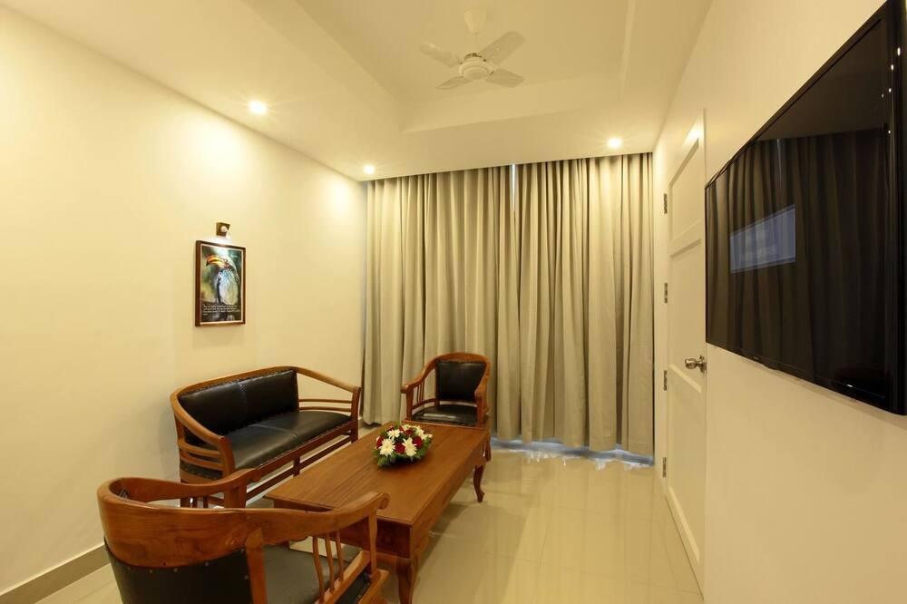Luxury Studio Suite - Living Room