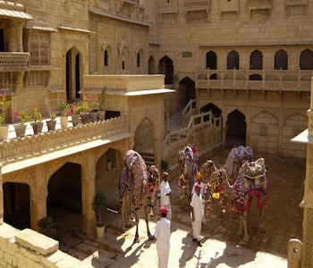 Foto van Hotel Narayan Niwas Palace in Jaisalmer
