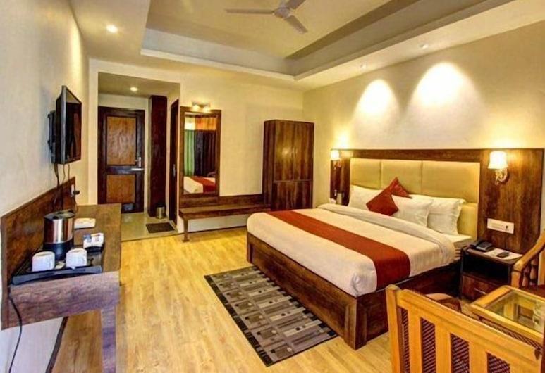 Hotel Sunrise Villa, Manali, Deluxe-Doppelzimmer, Bergblick, Zimmer