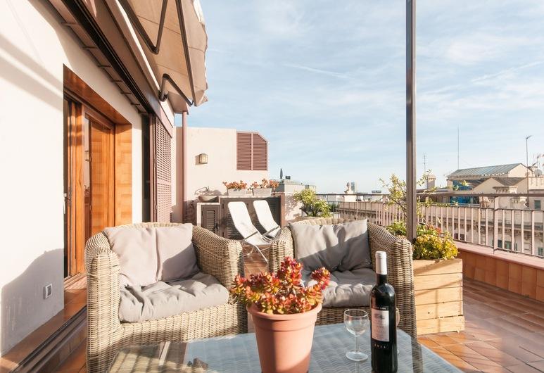 1 房酒店 - 附私人屋頂陽台, 巴塞隆拿, 室外用餐