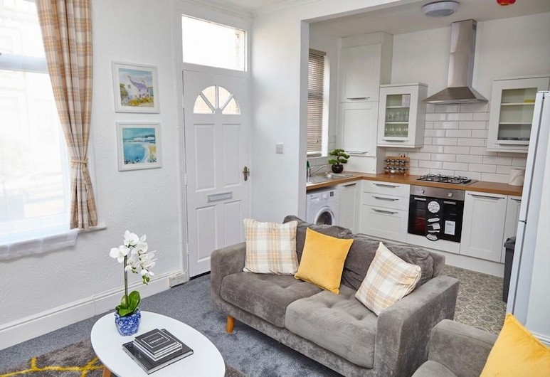 Vinery Apartments, Leeds, Deluxe Apartment, Private Bathroom, Garden View, Lounge
