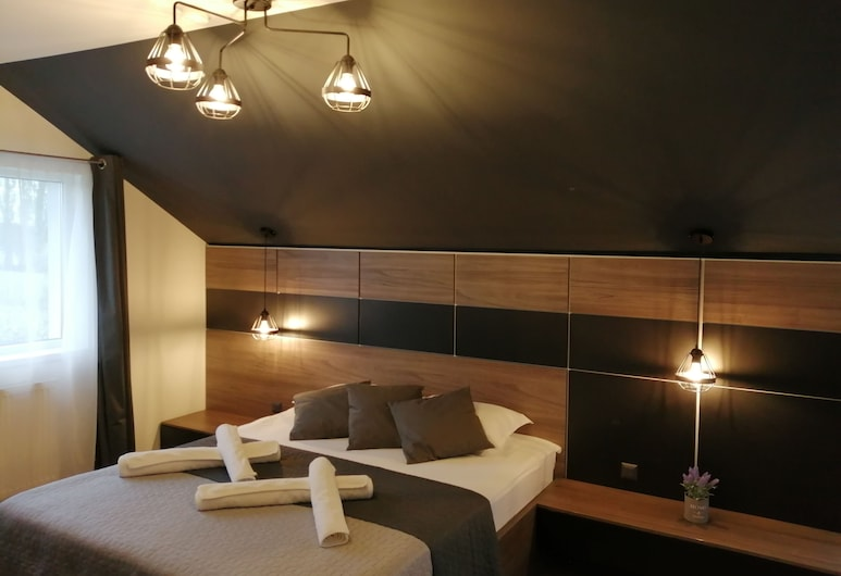 Green Wood Residence, Timisoara, Deluxe dubbelrum - terrass (Gray), Gästrum