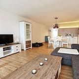 Comfort-Apartment (Nordstrand, incl. cleaning fee) - Wohnbereich