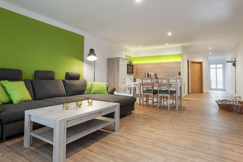 Comfort-Apartment (Südstrand, incl. cleaning fee) - Wohnbereich