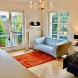 Villa am Steinhuder Meer -DZ-Azur- with Pant. Kitchen, garden, wifi