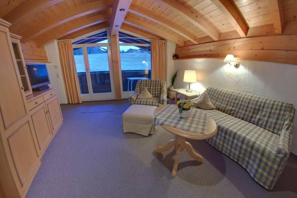 Apartment, 1 Bedroom (Hochgrat) - Living Area