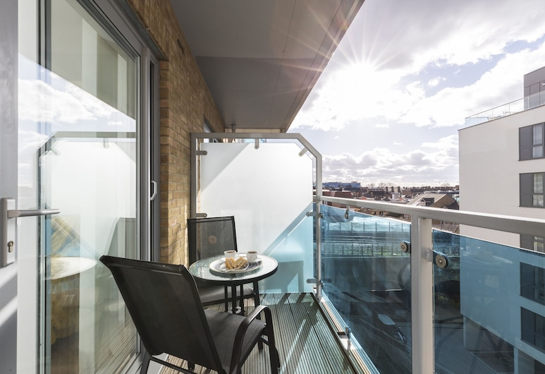 Gooch Apartments Hammersmith, London, Two-Bedroom Apartment, Balcony