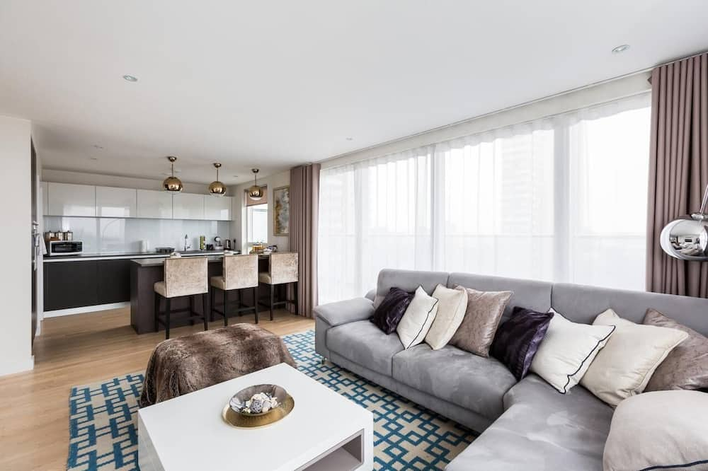 Two-Bedroom Apartment - Living Area