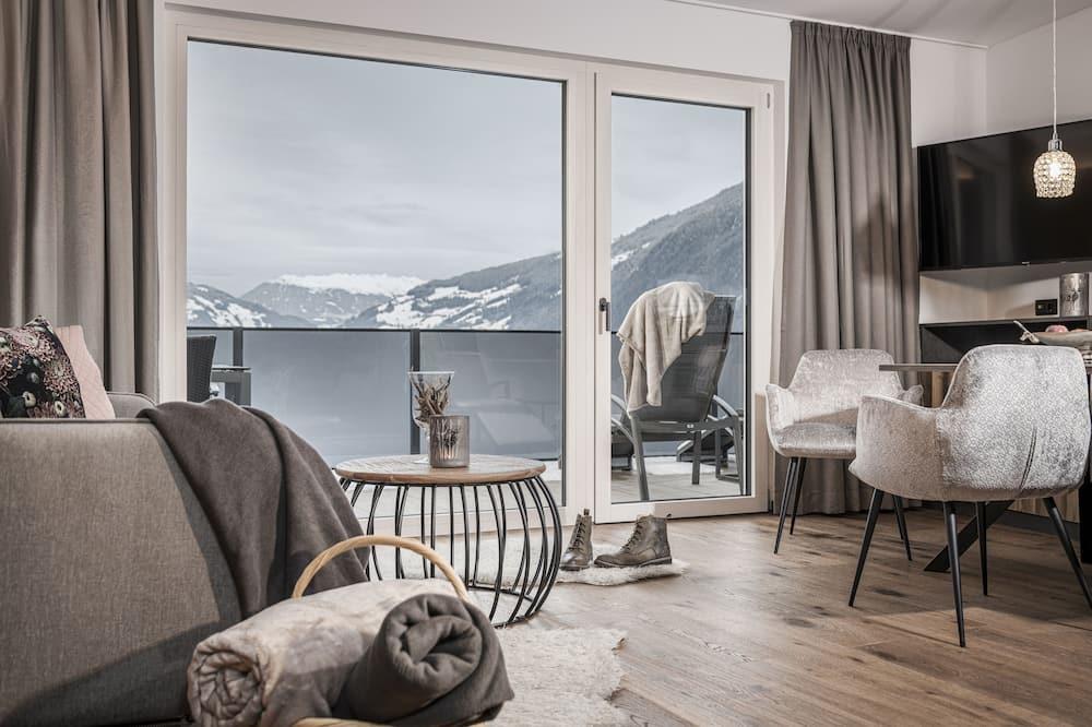 Apartman, terasa (Silber) - Dnevna soba