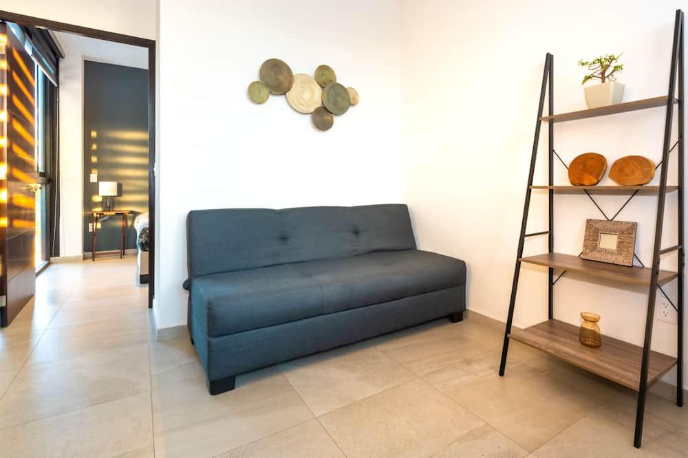 Comfort Σουίτα, 1 Queen Κρεβάτι με Καναπέ-Κρεβάτι - Καθιστικό