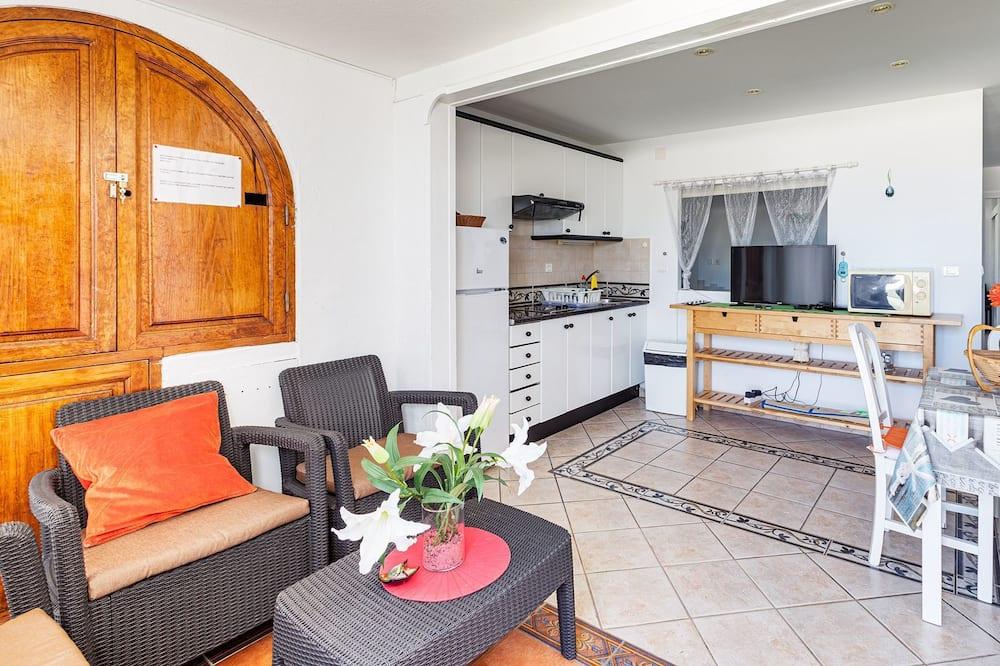 Lägenhet - 2 sovrum - terrass - Vardagsrum