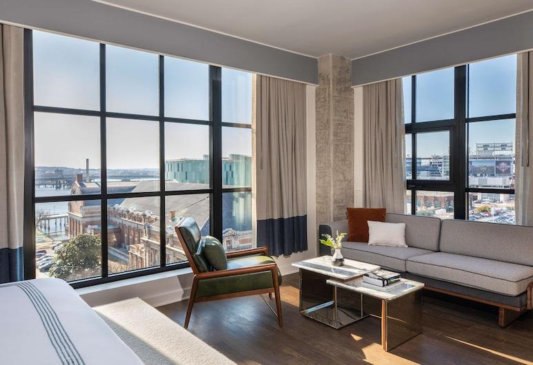 Thompson Washington D.C., Washington, Suite Júnior, 1 cama king-size, Quarto