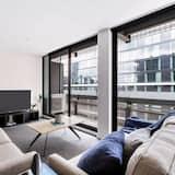 Deluxe Apart Daire - Oturma Alanı