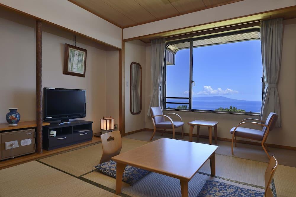 Traditionelt værelse - fælles badeværelse (Japanese Style, 3 Guests) - Opholdsområde