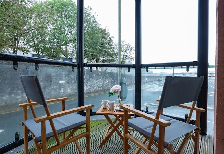 Tamar View Serviced Apartment, Plymouth, Classic-Apartment, Balkon