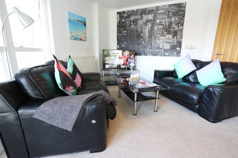 Premier Apartment - Living Room