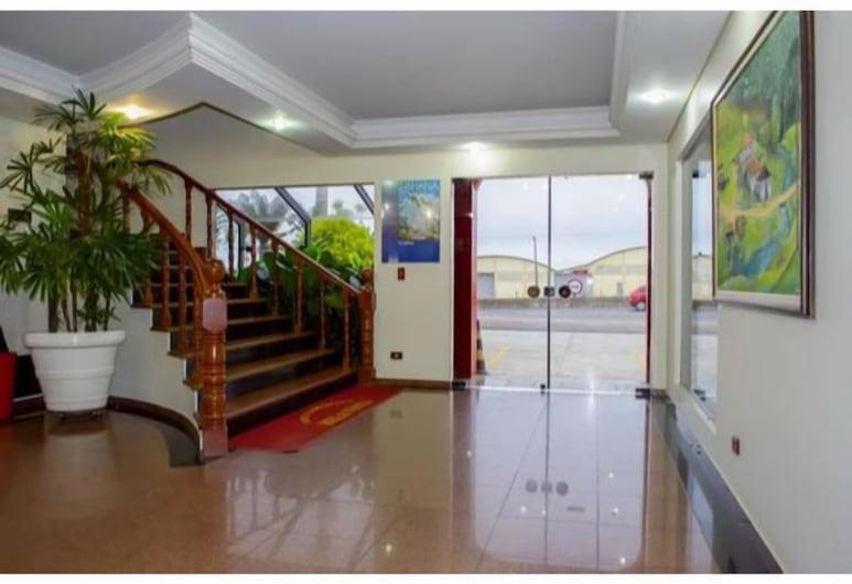Hotel Bela Vista, Colombo, Eteisaula