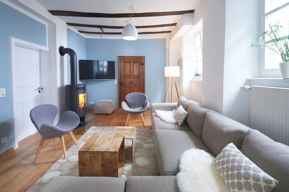 منزل - ٦ غرف نوم (incl. cleaning fee/linen 180/15 EUR) - غرفة معيشة