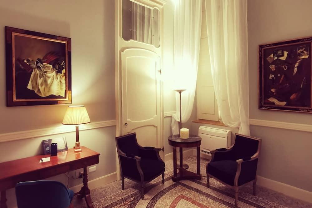 Chambre Luxury King - Salle de séjour