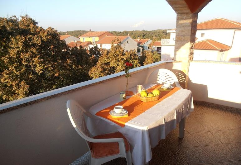 Villa Linet, Funtana, Štúdiový apartmán typu Comfort (8), Balkón