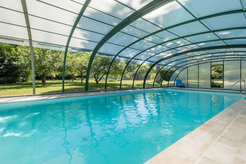 Comfort-suite - eget badeværelse - udsigt til pool (Bleuet) - Pool