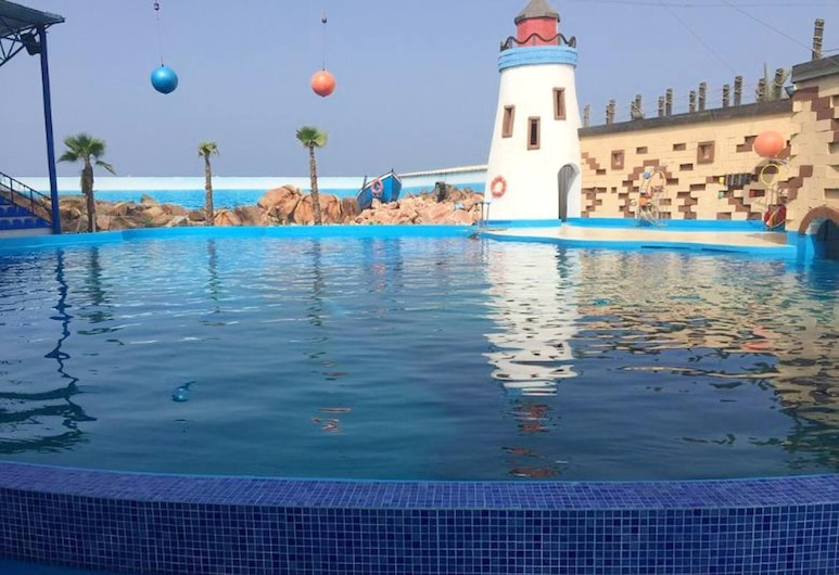 Apartment With 2 Bedrooms in Agadir, With Wonderful sea View and Terrace - 100 m From the Beach, Agadir, Basen