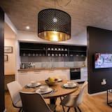 Departamento de diseño, terraza (1) - Sala de estar