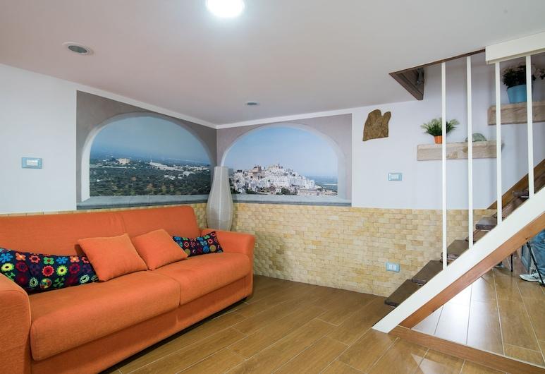 Casa Iris, Ostuni, Appartamento, 1 camera da letto, Area soggiorno