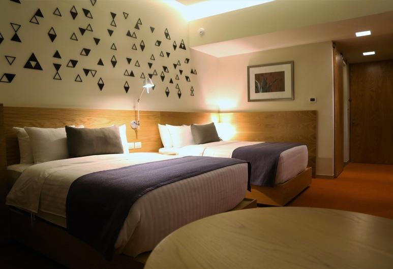 Hotel México Plaza Querétaro, קרטרו, חדר סטנדרט זוגי, חדר אורחים