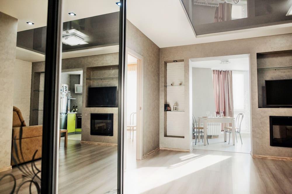 Suite estudio ejecutiva, vista a la ciudad - Habitación
