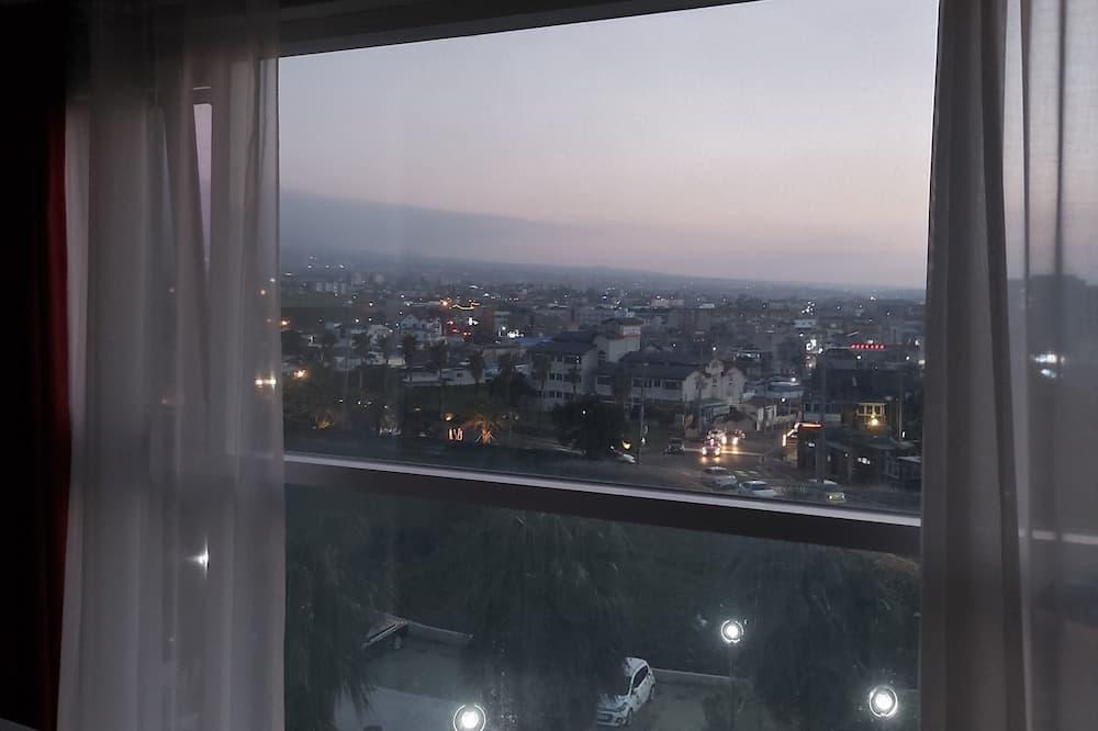 Habitación superior con 2 camas individuales, vista a la ciudad (15 PY) - Vista a la ciudad
