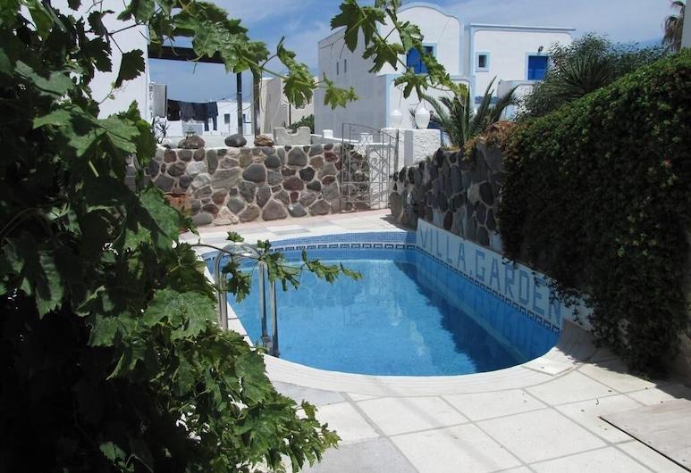 Villa Garden, Santorini