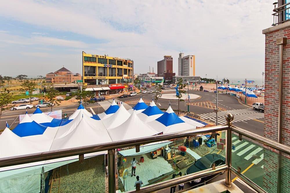 Aukštesnės klasės butas, vaizdas į vandenyną (304) - Vaizdas iš balkono