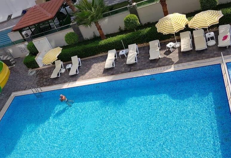 Residance Apartman Dairesi, Alanya, Açık Yüzme Havuzu