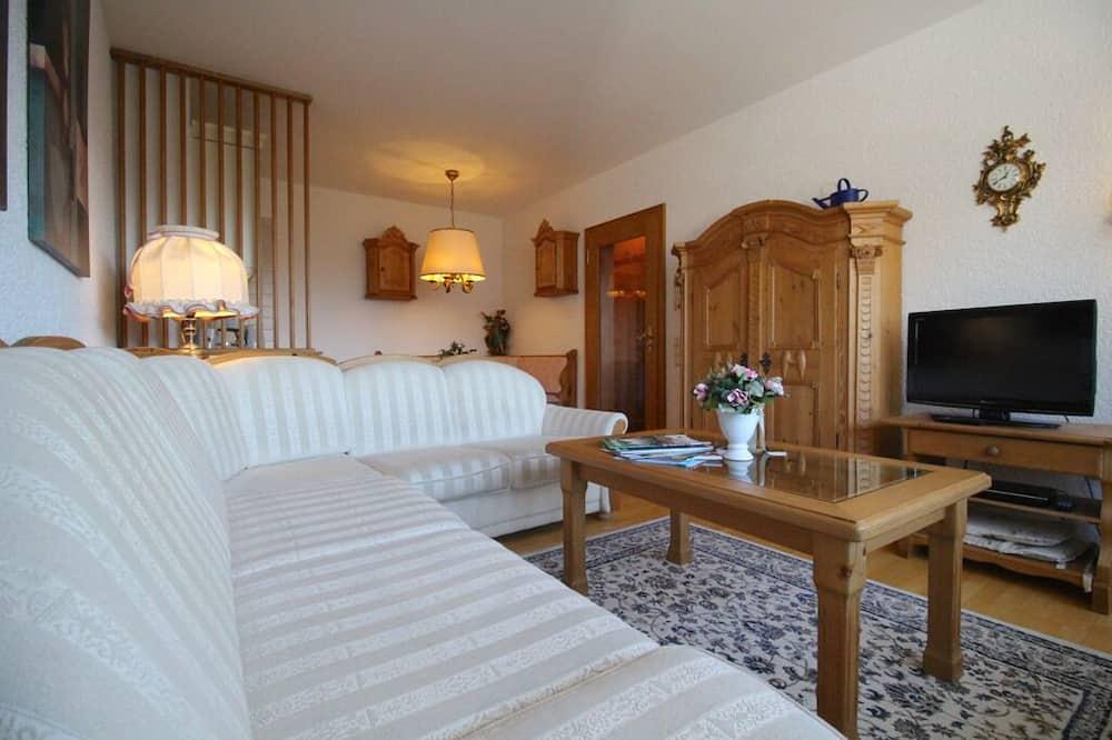 Apartment, 1 Bedroom, Mountain View (Wettersteinblick) - Living Room