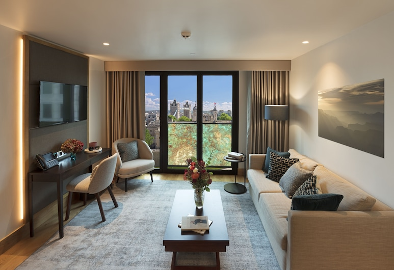 Tower Suites by Blue Orchid , لندن, جناح إستديو مميز, الغرفة