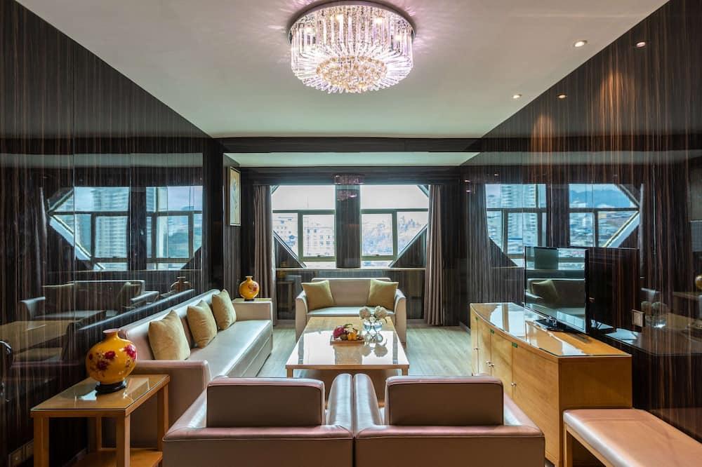 Suite Deluxe, Varias camas, para fumadores - Habitación