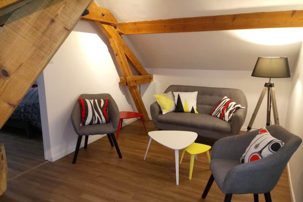 Camera tripla, bagno privato (Jonquille) - Area soggiorno