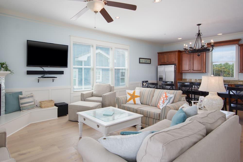 Condominio, 6 habitaciones - Sala de estar