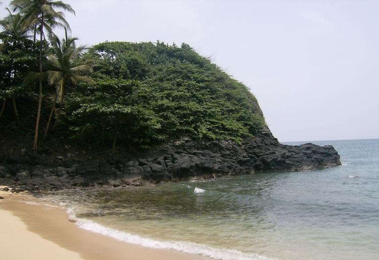 N Guembú Nature Resort, Sao Tome Island, Beach