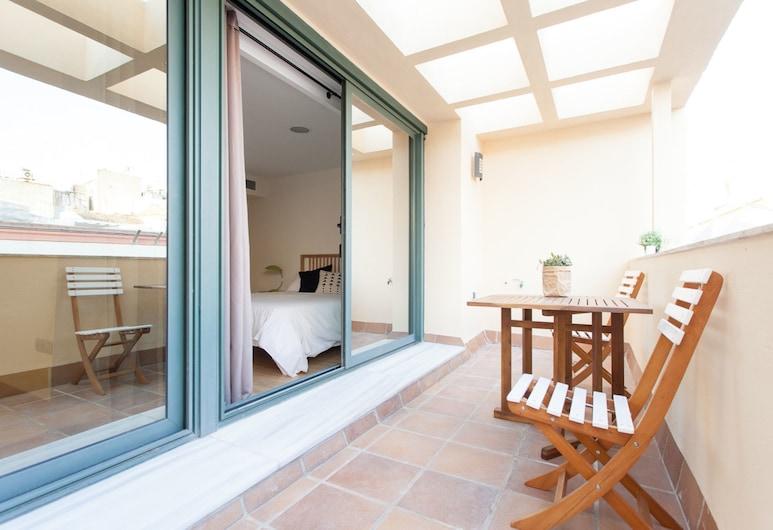 歐勒公寓 - 阿爾巴雷達酒店, 塞維爾, 公寓, 1 間臥室, 露台 (Albareda 5), 露台