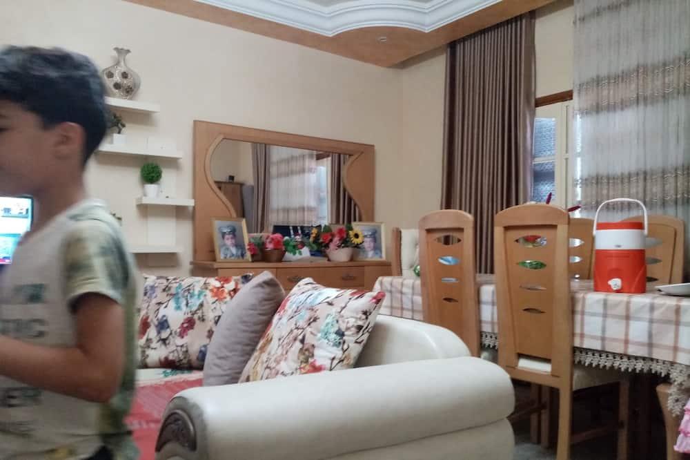 City appartement, 2 slaapkamers, Uitzicht op het strand - Keuken in kamer