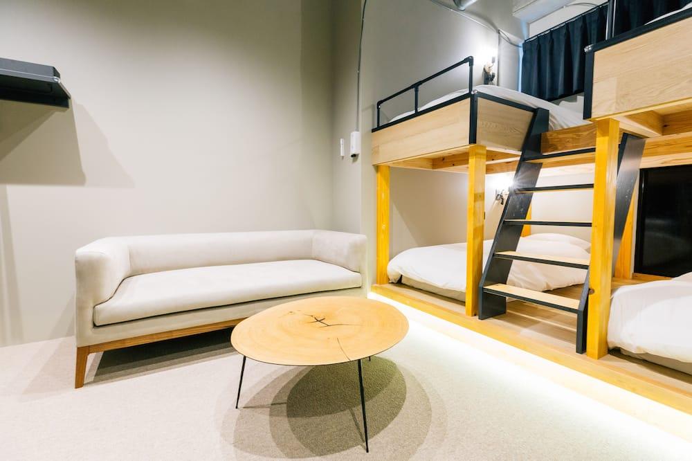 Comfort-Vierbettzimmer, Mehrere Betten, Nichtraucher - Wohnbereich