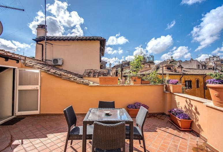 Holiday Vip Navona, Roma, Appartamento panoramico, 2 camere da letto, Terrazza/Patio