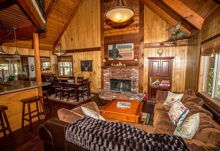 Birchwood Knoll-1119 by Big Bear Vacations, Big Bear Lake, House, 4 Bedrooms, Living Room