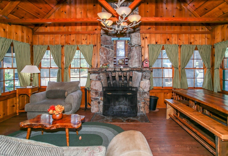 Abe's Amazing Cabin-1421 by Big Bear Vacations, Big Bear Lake, House, 5 Bedrooms, Living Room