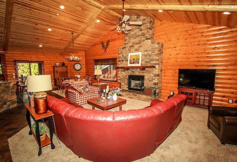 Cornerstone Lodge-1559 by Big Bear Vacations, Big Bear Lake, Casa, 3 Quartos, Sala de Estar