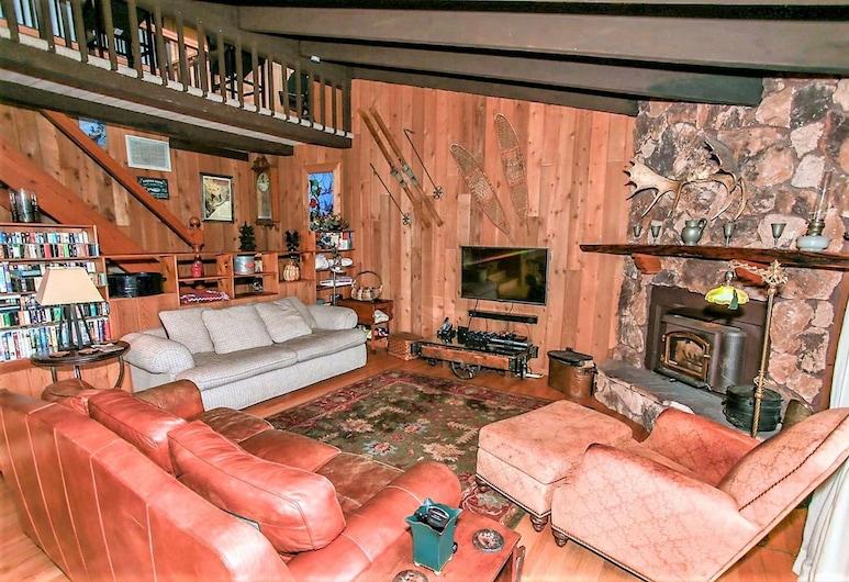 Golf & Ski Retreat-1443 by Big Bear Vacations, Big Bear Lake, House, 3 Bedrooms, Living Room