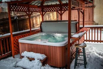 大熊湖松樹景觀小屋酒店 - 801 大熊假期酒店的圖片