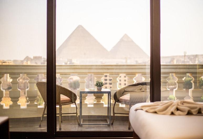 New Pyramids Eyes, Giza, Superior - kahden hengen huone (Pyramids View), Vuoristonäköala